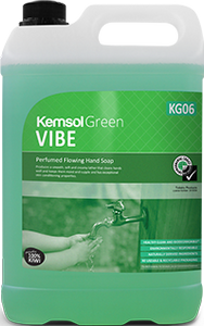 "Kemsol ""Green"" Vibe Perfumed Hand Soap"