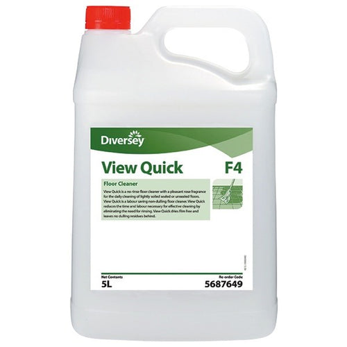 Diversey View Quick Neutral Floor Cleaner