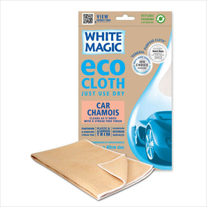 White Magic Car Chamois - Eco Cloth