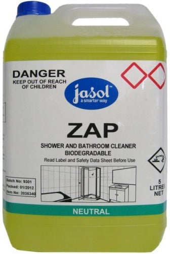 Jasol Zap Shower & Bathroom Cleaner