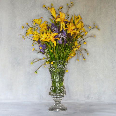 Iris + Lillies You Remind Me of Goodness - The Art of Katherine Jeans