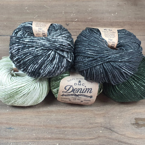 DMC Natura Cotton Denim 8ply