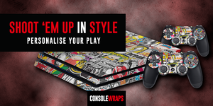 Shoot Them Up in Style with Personalized Console Skins by ConsoleWraps