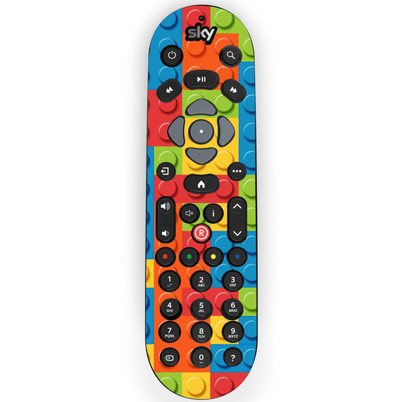 Lego Bricks Sky Q Remote Skin