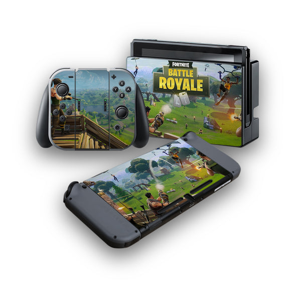 Fortnite -Protective Vinyl Skin Decal Cover for Nintendo Switch Console & 2 Controllers 001