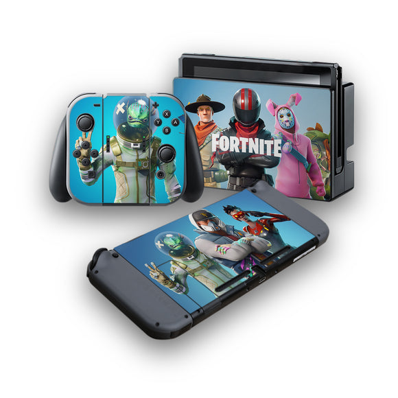 Fortnite -Protective Vinyl Skin Decal Cover for Nintendo Switch Console & 2 Controllers 002
