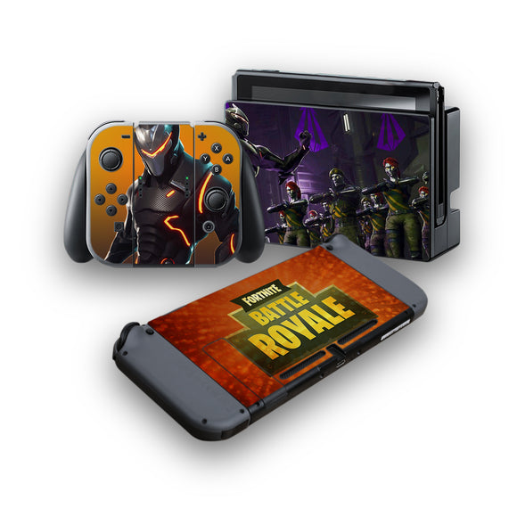 Fortnite -Protective Vinyl Skin Decal Cover for Nintendo Switch Console & 2 Controllers 004
