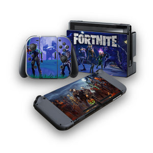Fortnite -Protective Vinyl Skin Decal Cover for Nintendo Switch Console & 2 Controllers 005