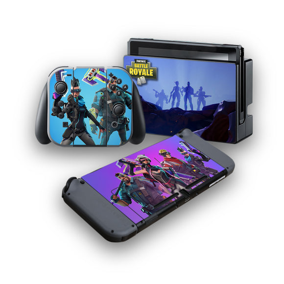 Fortnite -Protective Vinyl Skin Decal Cover for Nintendo Switch Console & 2 Controllers 006