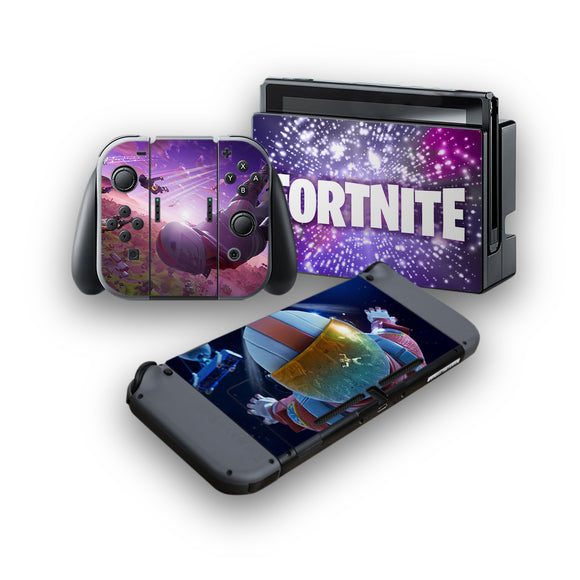 Fortnite -Protective Vinyl Skin Decal Cover for Nintendo Switch Console & 2 Controllers 007
