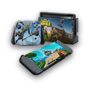 Fortnite -Protective Vinyl Skin Decal Cover for Nintendo Switch Console & 2 Controllers 008