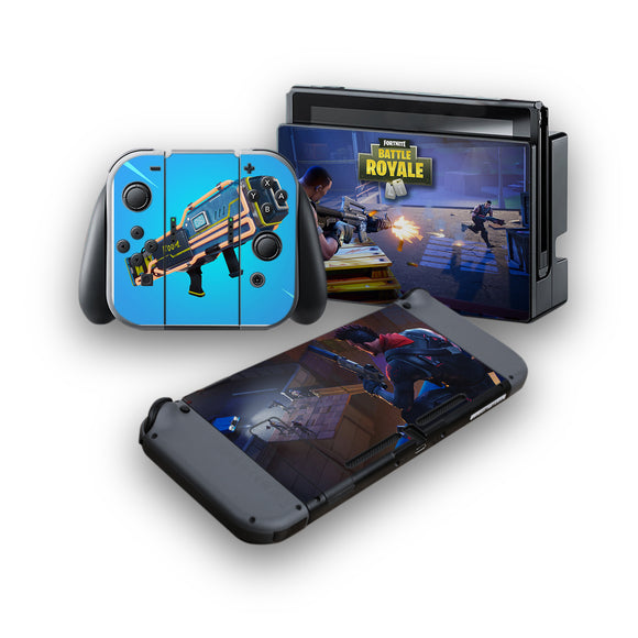 Fortnite -Protective Vinyl Skin Decal Cover for Nintendo Switch Console & 2 Controllers 009