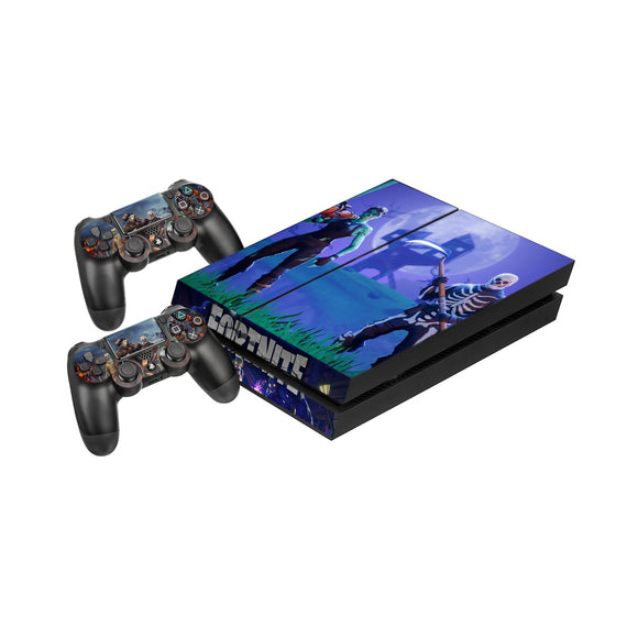 Fortnite -Protective Vinyl Skin Decal Cover for PlayStation 4 Console & 2 Controllers 005