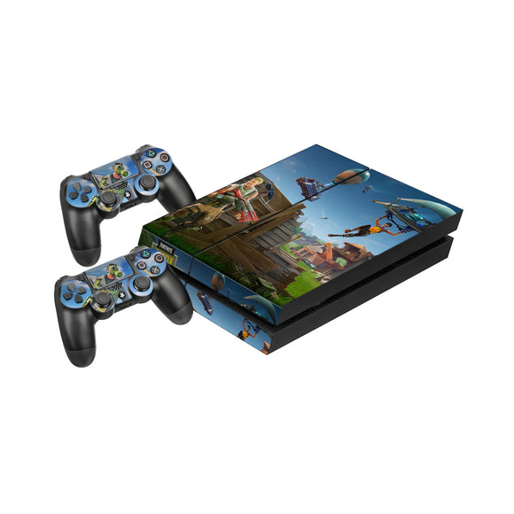 Fortnite -Protective Vinyl Skin Decal Cover for PlayStation 4 Console & 2 Controllers 008