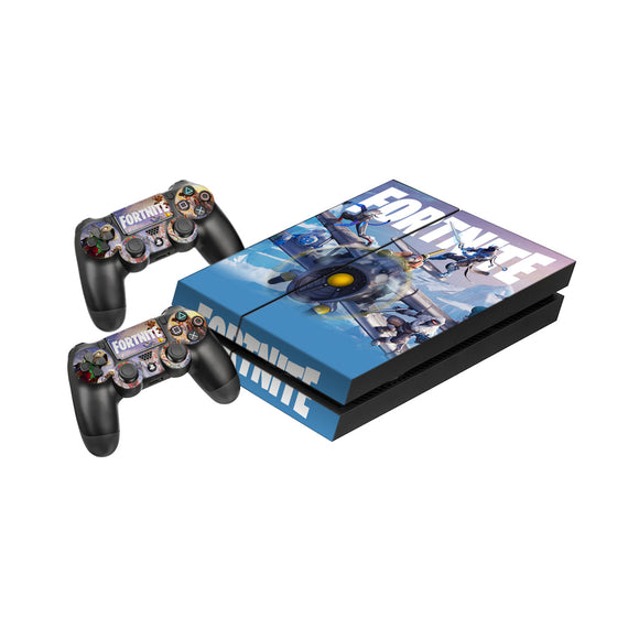 Fortnite - Protective Vinyl Skin Decal Cover for PlayStation 4 Console & 2 Controllers General