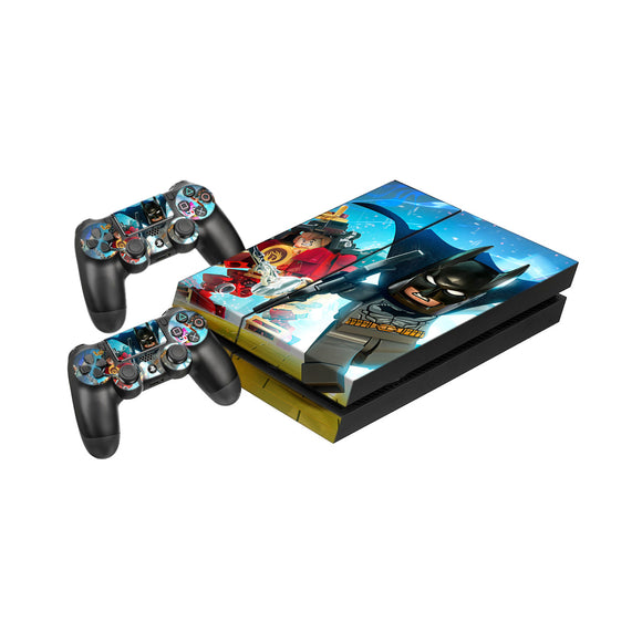Lego Dimensions -Protective Vinyl Skin Decal Cover for PlayStation 4 Console & 2 Controllers