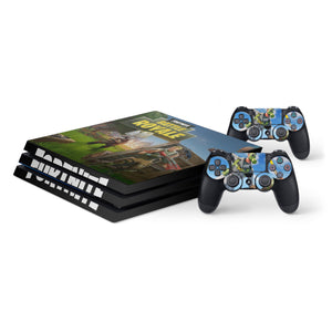 Fortnite Protective Vinyl Skin Decal Cover for PS4 Pro Console & 2 Controllers 008