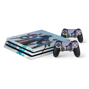 Fortnite Season 7 Protective Vinyl Skin Decal Cover for PlayStation 4 Pro Console & 2 Controllers