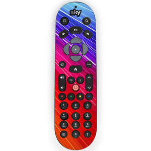 Rainbow Techno Sky Q Remote Skin