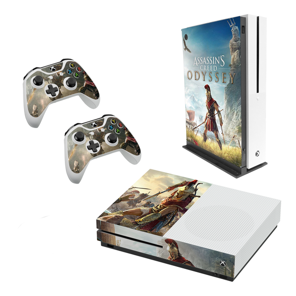 Assassin's Creed Odyssey - Decal Style Skin Set fits XBOX One S Console and 2 Controllers