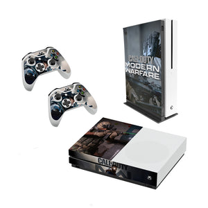 Call Of Duty Modern Warfare - Decal Style Skin Set fits XBOX One S Console and 2 Controllers