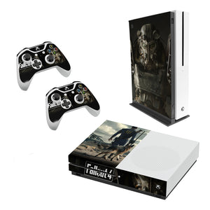 Fallout 4 -Decal Style Skin Set fits XBOX One S Console and 2 Controllers