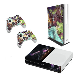 Overwatch -Decal Style Skin Set fits XBOX One S Console and 2 Controllers