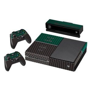Vinyl Decal Protective Skin Cover Sticker for Xbox One Console and 2 Controllers -Play The Game
