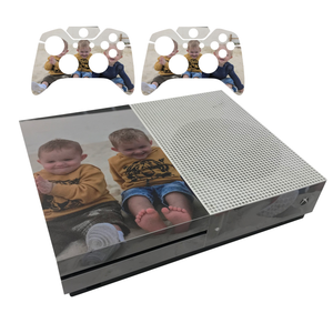 Custom Xbox One S & Controllers Console Wrap