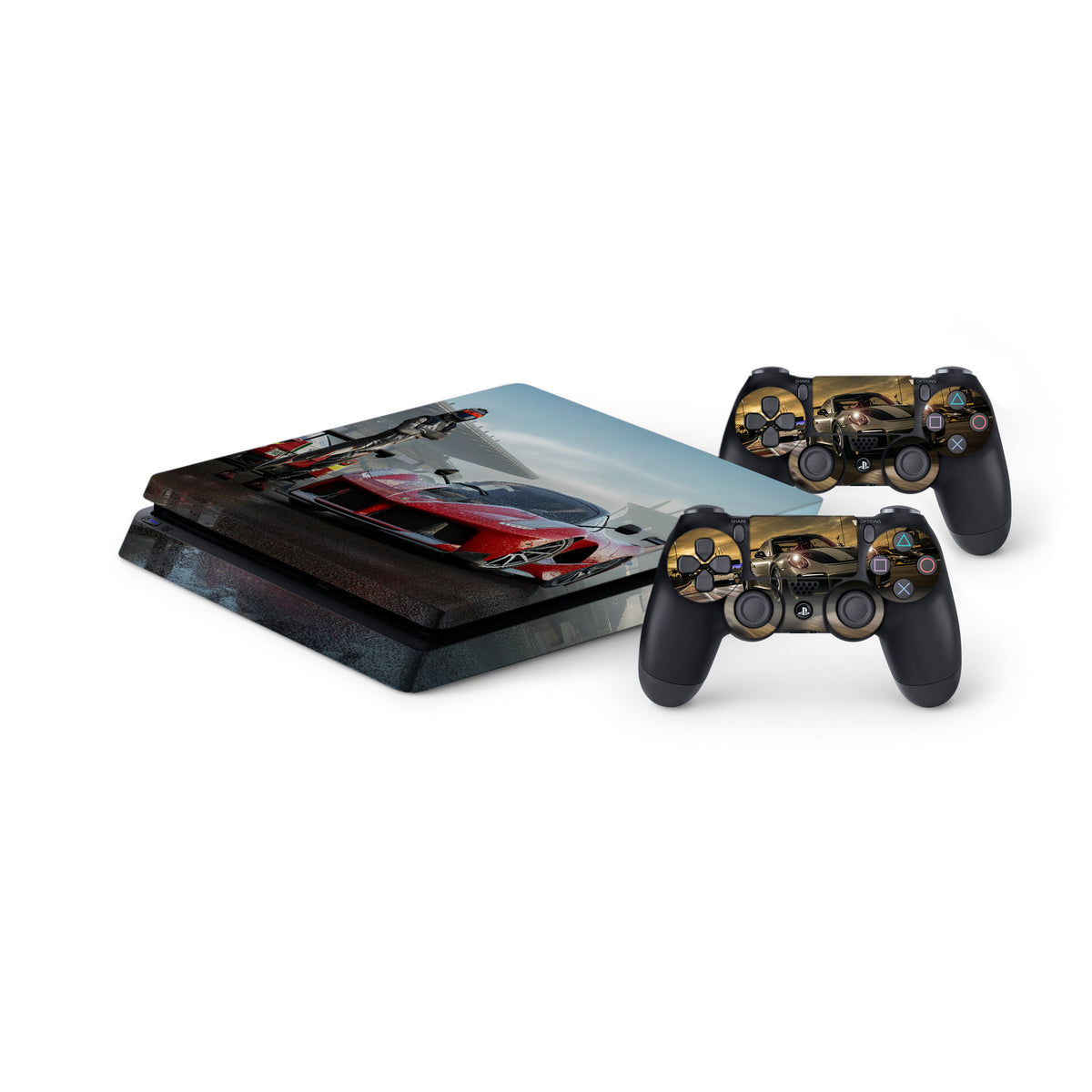 forza 7 protective vinyl skin decal cover for playstation. Black Bedroom Furniture Sets. Home Design Ideas