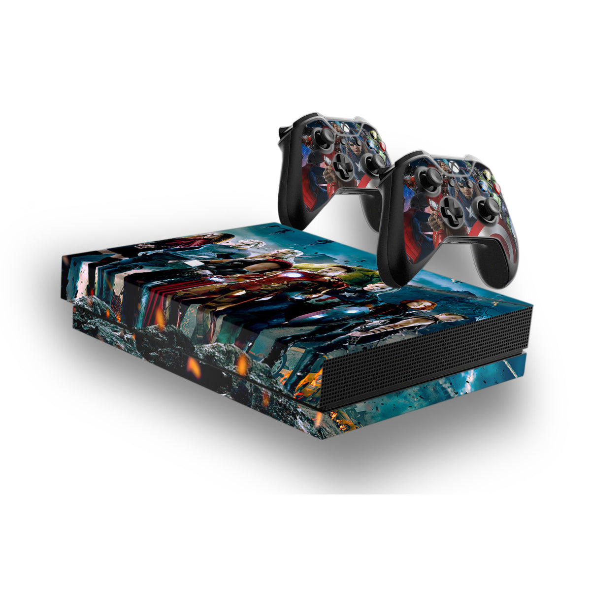 Avengers Protective Vinyl Skin Decal Cover For Xbox One X