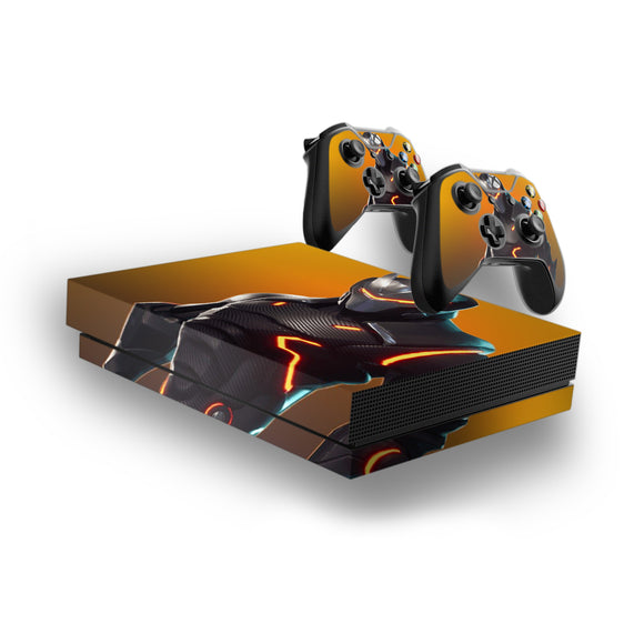 Fortnite -Decal Style Skin Set fits XBOX One X Console and 2 Controllers 004