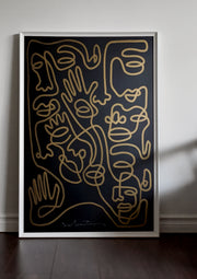 'Good Guys Gravity' (LARGE) 70 x 100 cm