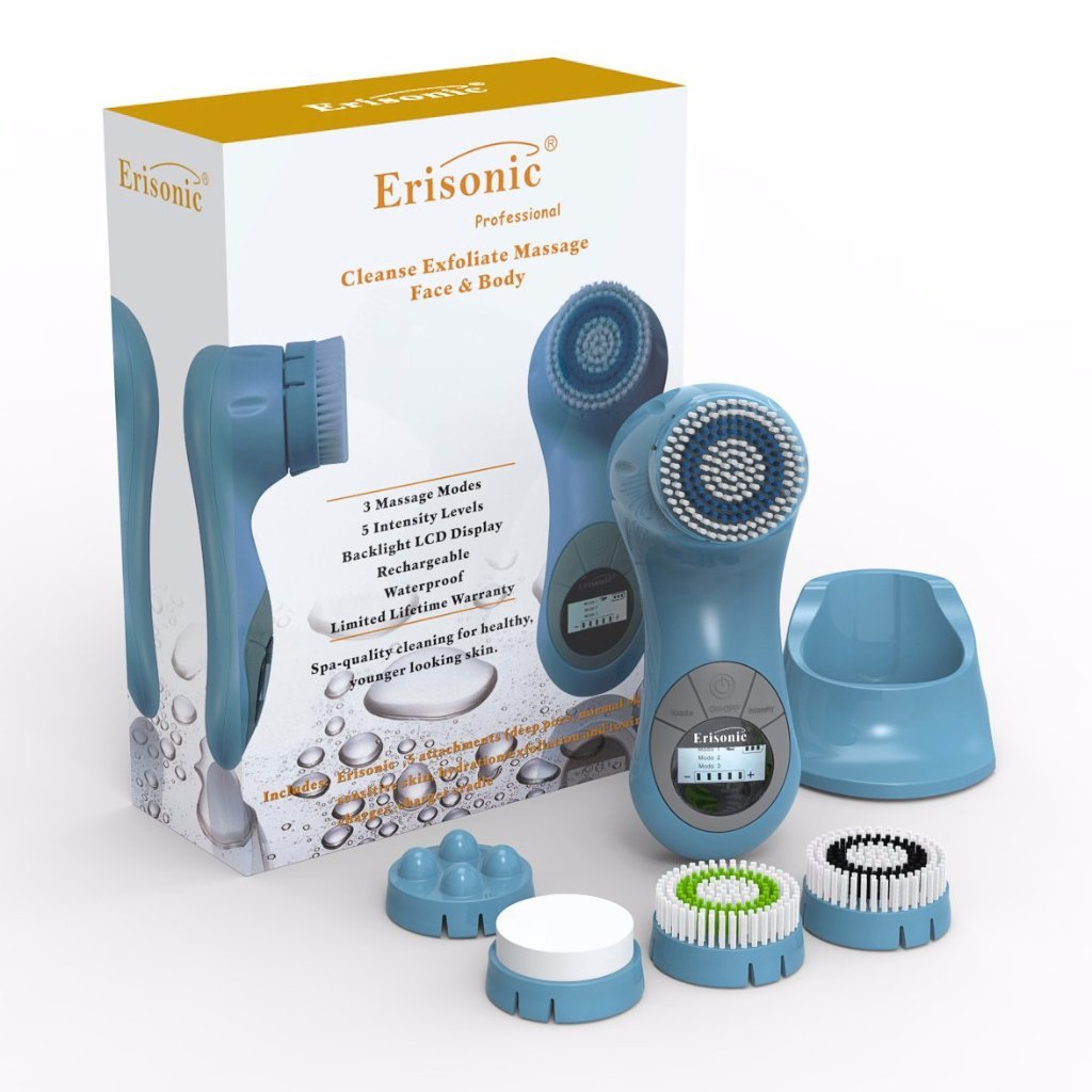 BABY BLUE ERISONIC FACIAL CLEANSING AND MASSAGE SYSTEM