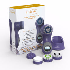 DARK PURPLE ERISONIC FACIAL CLEANSING AND MASSAGE SYSTEM