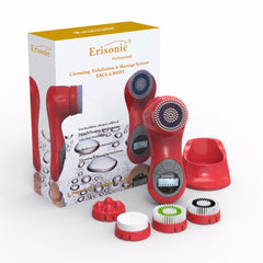 RED ERISONIC FACIAL CLEANSING AND MASSAGE SYSTEM