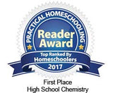 Chemistry 101 High School Chemistry Award 2017