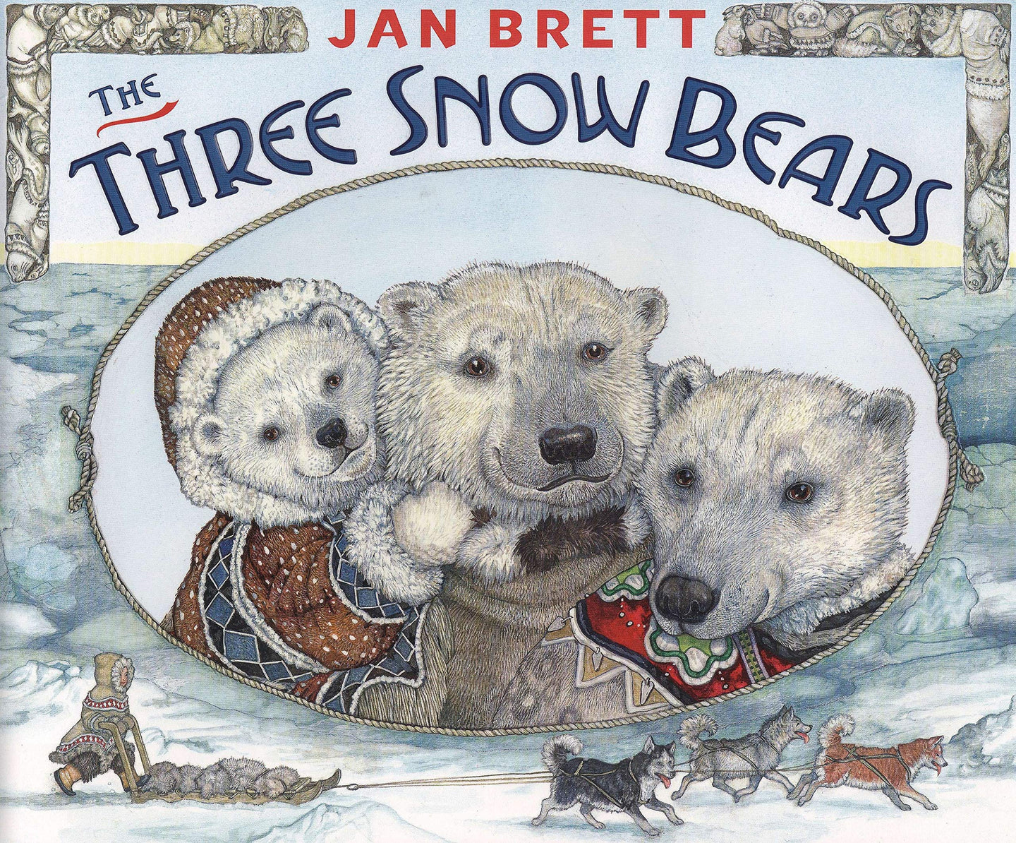 The Three Snow Bears - Jan Brett