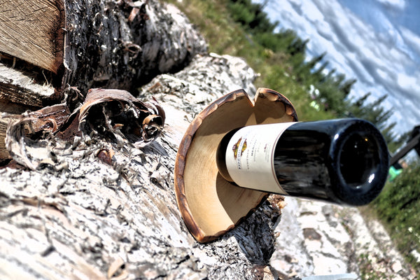Hand-made Wine Bottle Holder - Arrowhead