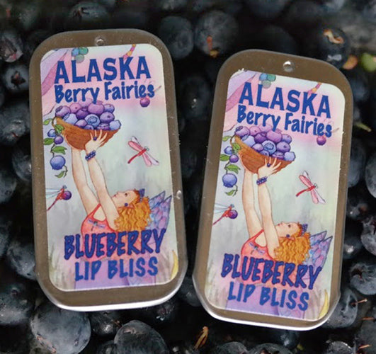 Alaska Berry Fairies Blueberry Lip Bliss