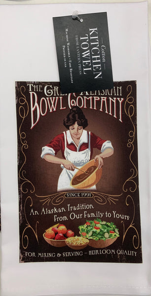 The Great Alaskan Bowl Company Kitchen Towel