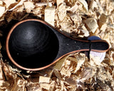 Cherry Wood Coffee Scoop