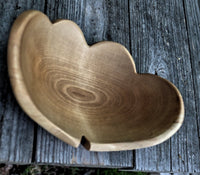 Double Heart Bowl - Plain or Engraved