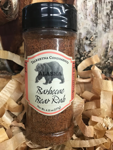 Barbecue Bear Rub