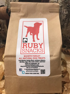 Ruby All-Natural Dog Snacks