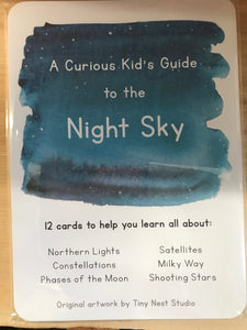 A Curious Kid's Guide to the Night Sky