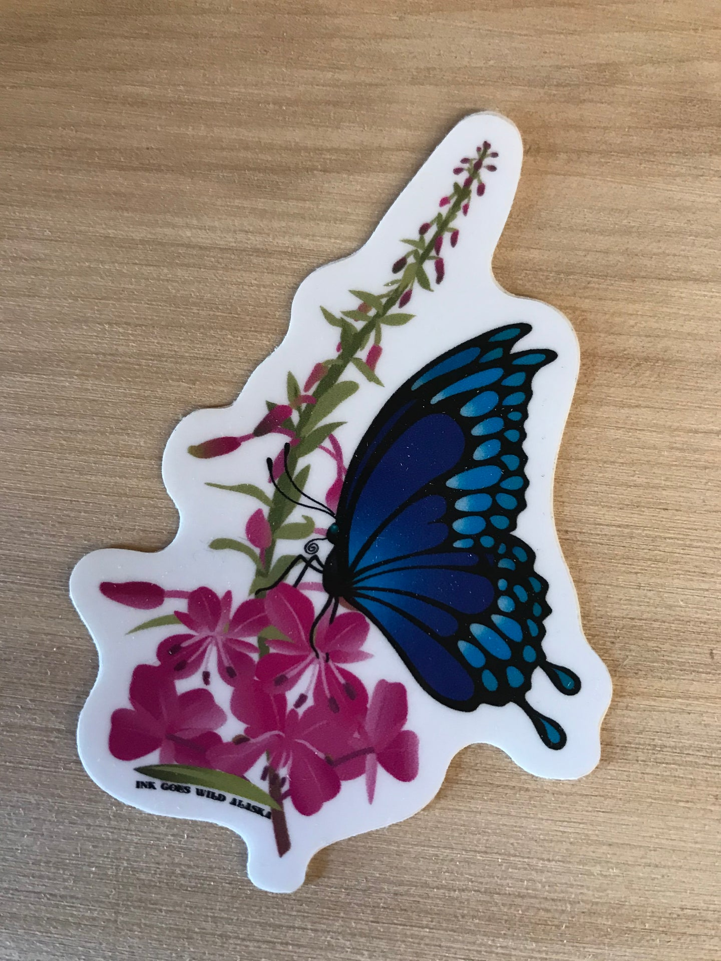 Butterfly and Vinyl Sticker