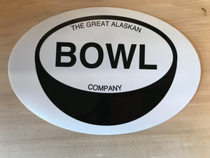 Great Alaskan Bowl Company Sticker
