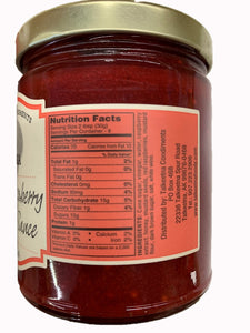 Talkeetna Condiments Tangy Raspberry Dipping Sauce
