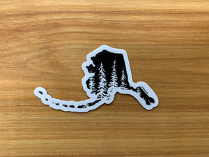 Stately Spruce Sticker